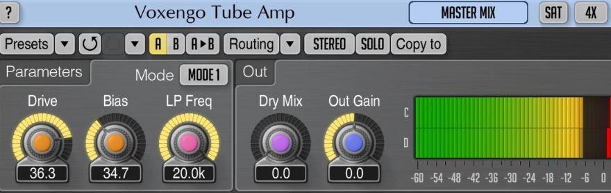 Tube Amplifier Plugin