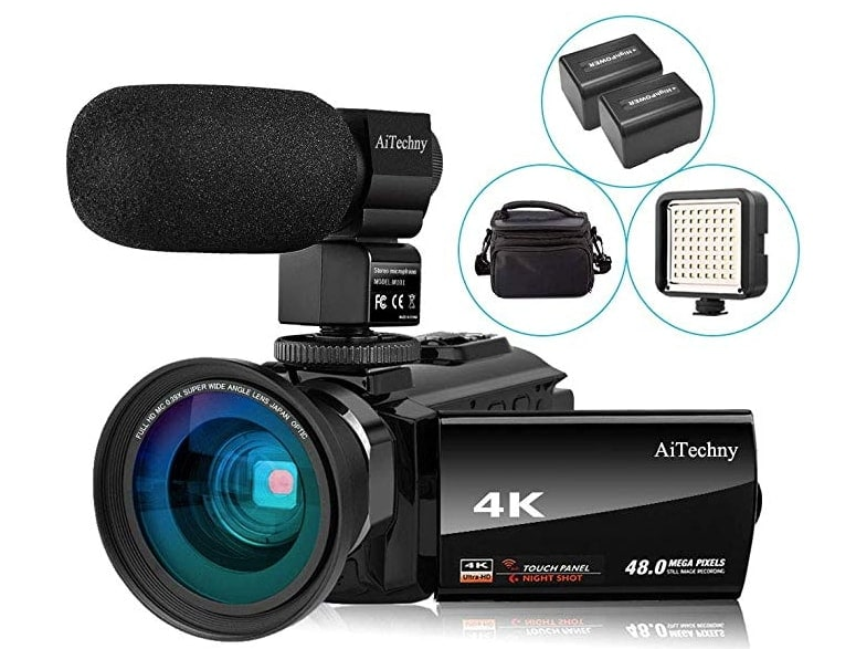 Aitechny 4K Video Camcorder