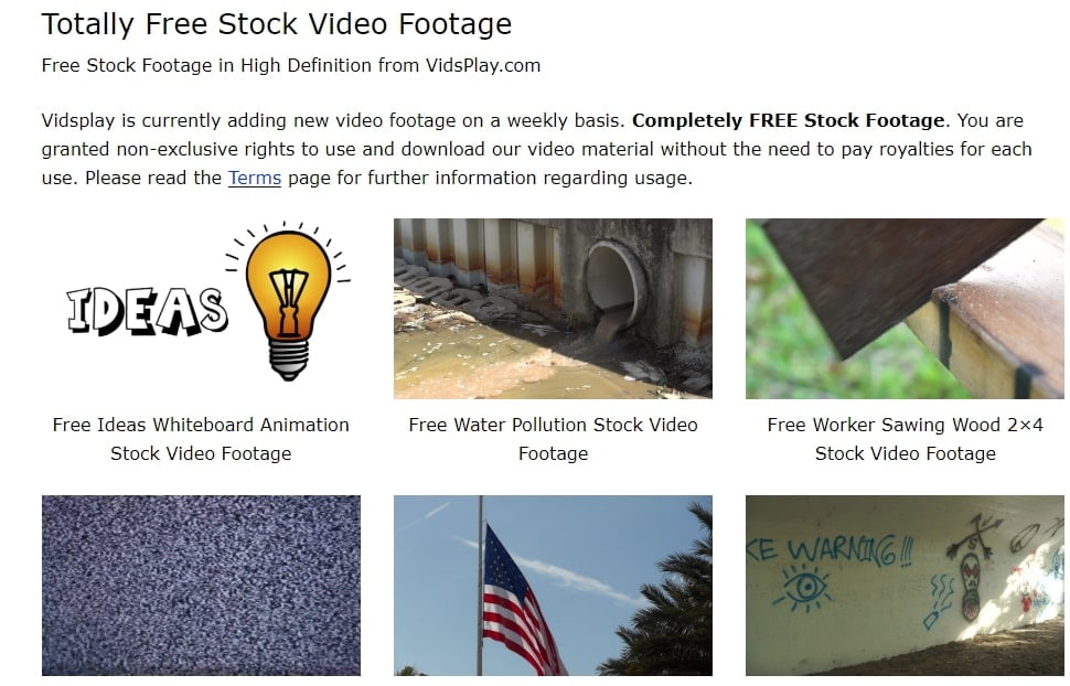 completely free stock footage