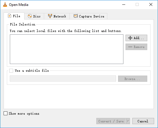 vlc convert video to MP4