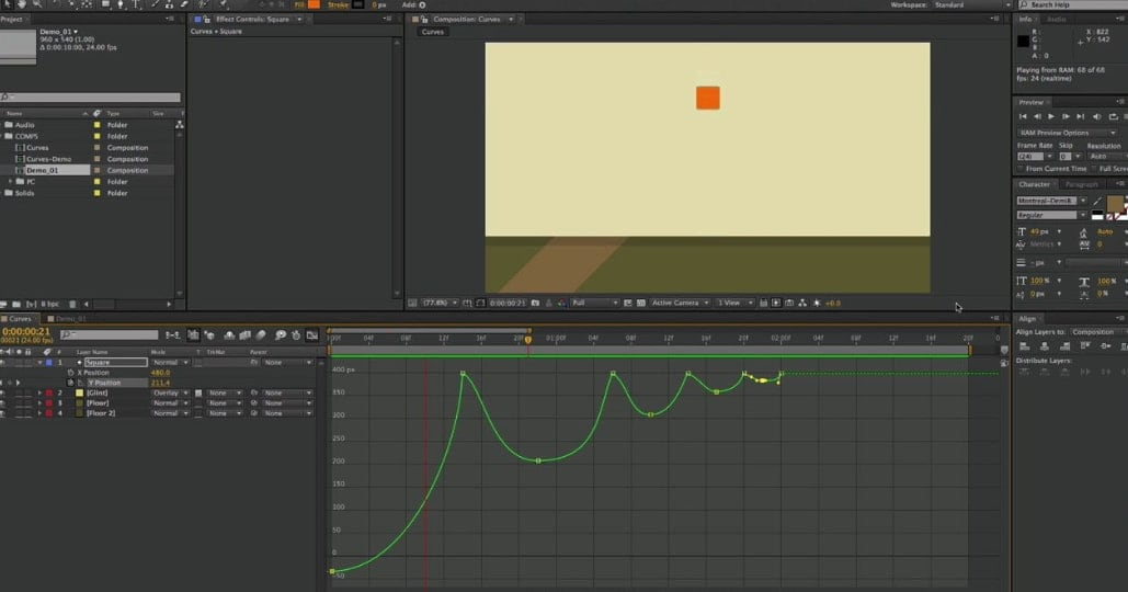 why you need key frames after effects
