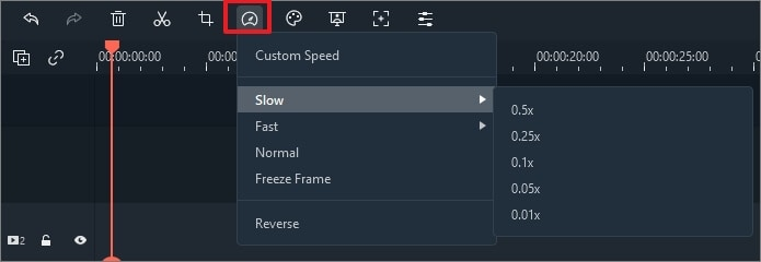 custom speed panel