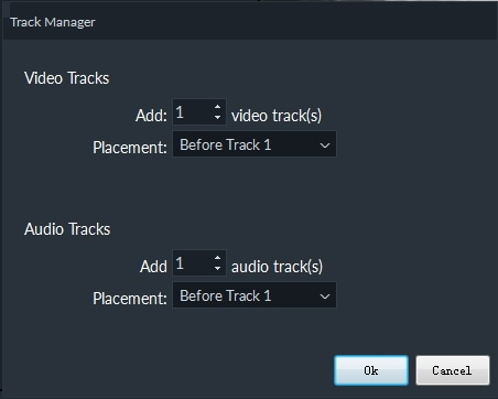 customize track  Filmora 9