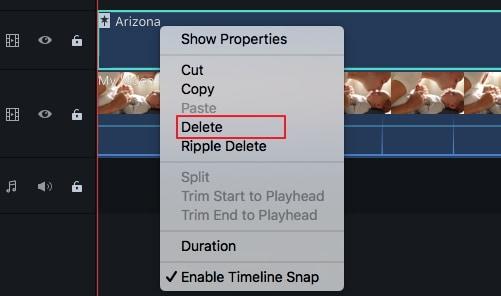 remove filters in filmora 9