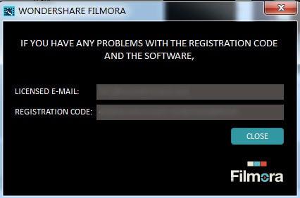 filmora registration