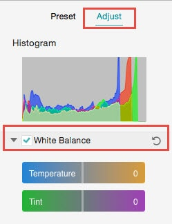 white-balance mac