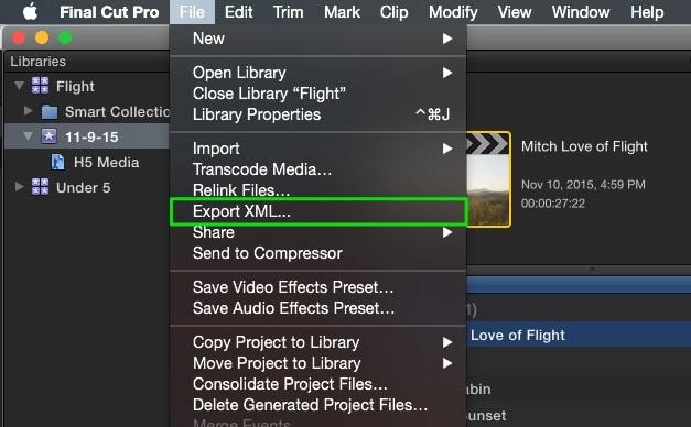 export-xml