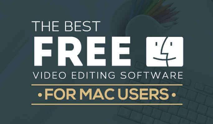 free video editor mac