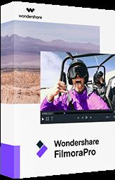 editor de vídeo filmorapro
