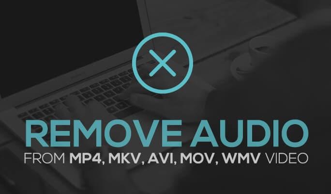 Remove Audio from MP4, MKV, AVI, MOV, WMV Video