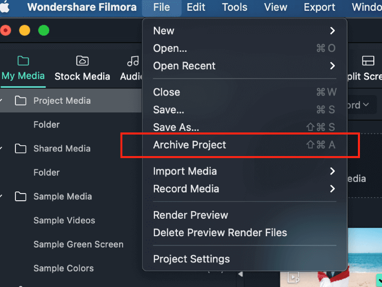 archive projects