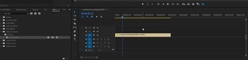 Adobe Premiere Create Sequence