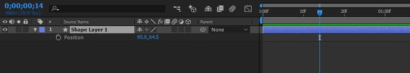 Adobe After Effects Position