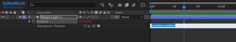 Adobe After Effects Wiggle Stopwatch