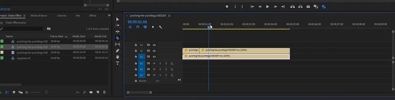 Adobe Premiere Duplicate Footage