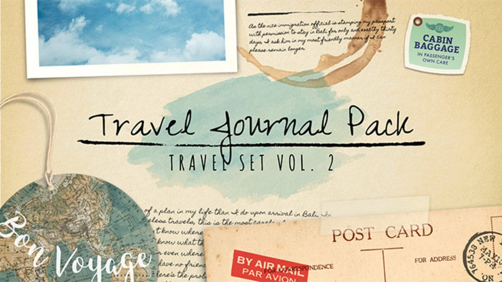 Travel Journal Pack