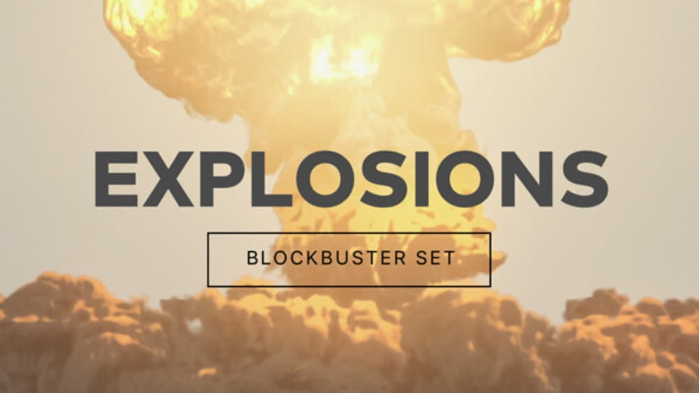 BlockBuster Explosions Pack