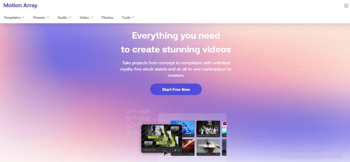 Motion_Array_homepage