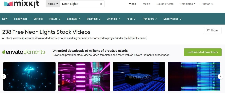 mixkit-neon-effect