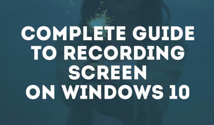 Топ-5 бесплатных экранных рекордеров на Windows 10
