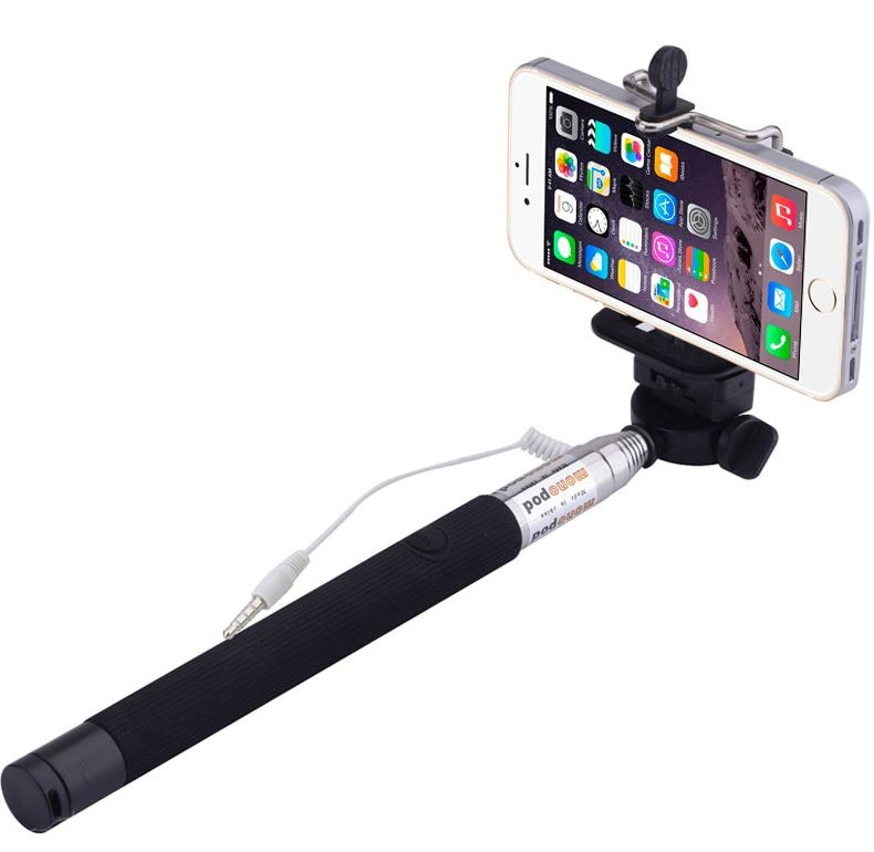 Manual Shutter Button Selfie Stick