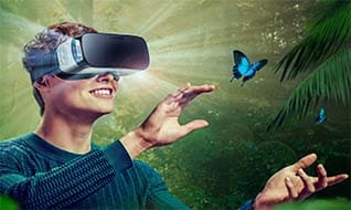 The Virtual Reality Movies in the Cinema