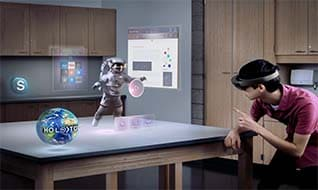 Microsoft HoloLens Review- a glimpse of holographic future