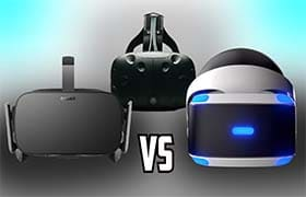What's the best gaming VR headset- Oculus Rift Vs. HTC Vive Vs. PlayStation VR