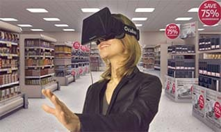The development and application of VR shopping