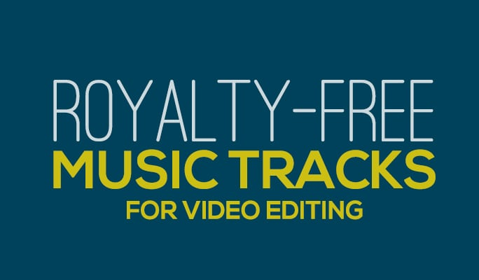 Royalty-free music tracks for video editing