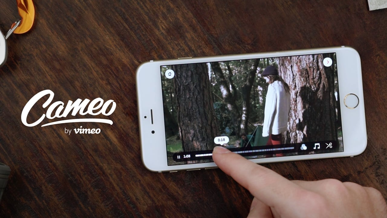 Vimeo Cameo Review-Video Editor & Movie Maker for iPhone