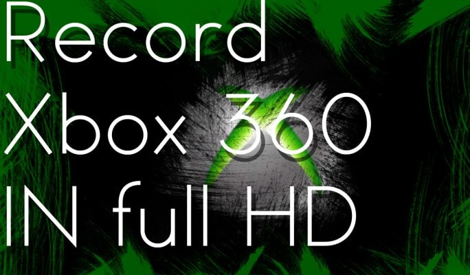 How to Capture Gameplay from  Xbox 360