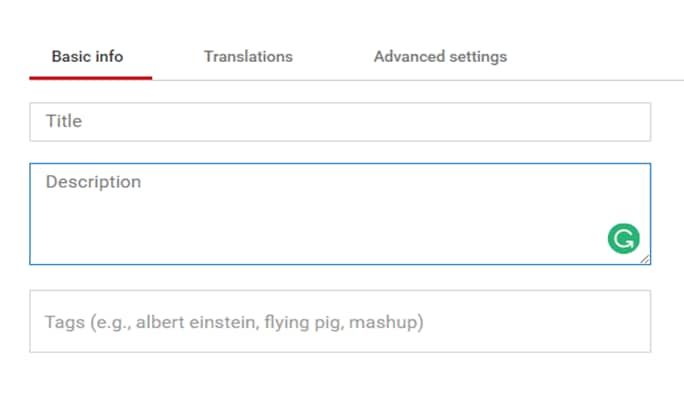 How to Edit Title, Description, and Tags for YouTube Videos