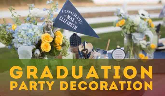 Inspiration: 15 Ideas For Graduation Party Decoration