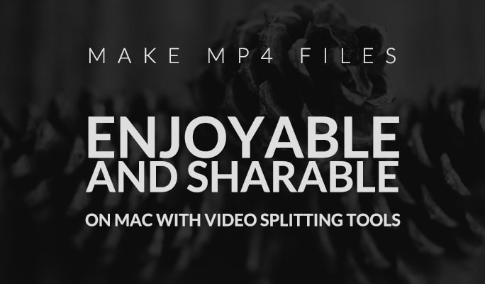 MP4 Splitter for Mac: Splitting MP4 files on Apple Mac OS