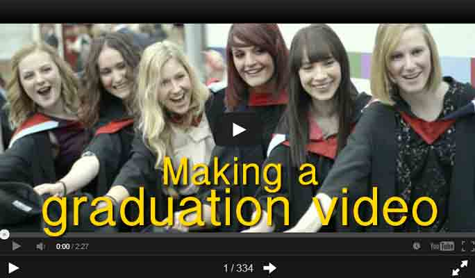 Preserve Your Graduation Memories by Making a Graduation Video