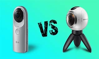Samsung Gear 360 vs LG 360 Cam: Which 360 degree camera is better
