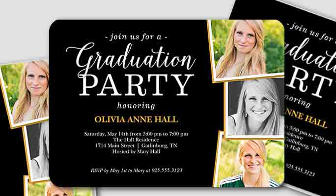 Top 20 Sites To Make Graduation Party Invitations 2017