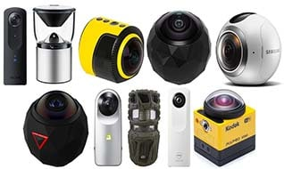 Top 10 Affordable 360 Degree Cameras