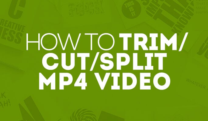 How to Trim/Cut/Split MP4 (MPEG/MPG) Video
