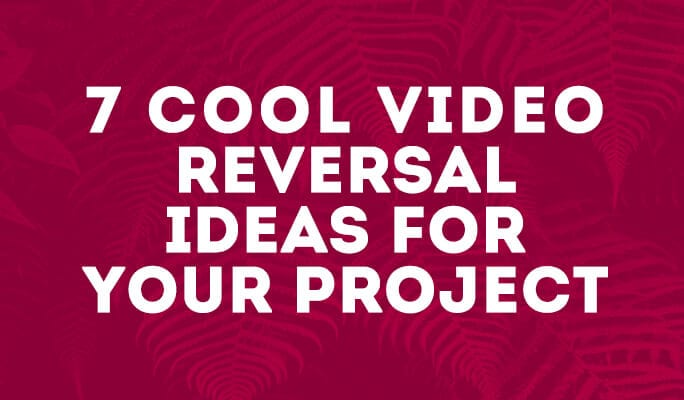 7 Cool Video Reversal Ideas for Your Project