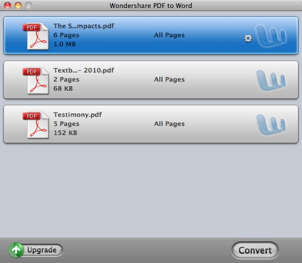 PDF to Word for Mac