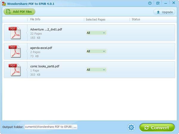 PDF to EPUB Converter User Guide