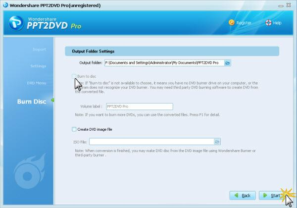 PPT2DVD Pro User Guide