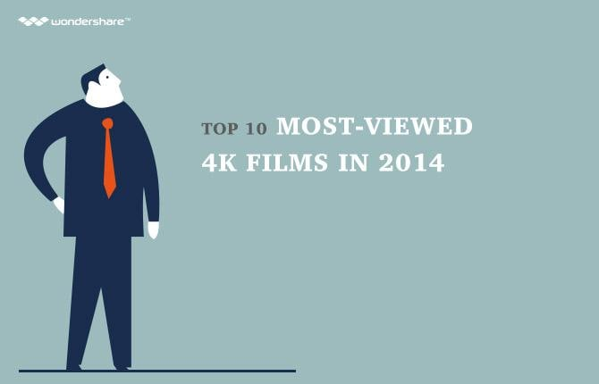 Top 10 Most-viewed 4K Films in 2014