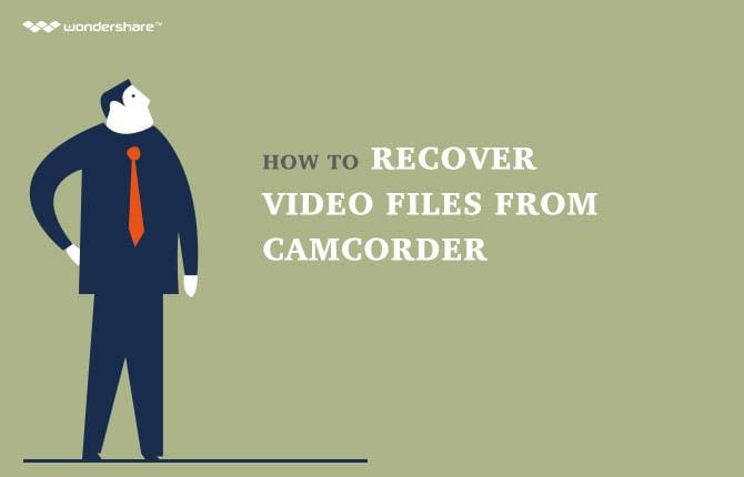 Camcorder Recovery: How to Recover Deleted Video File  from Camcorder