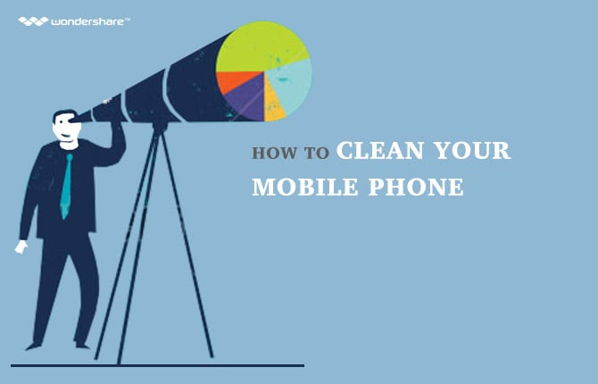 How to Clean Your Mobile Phone
