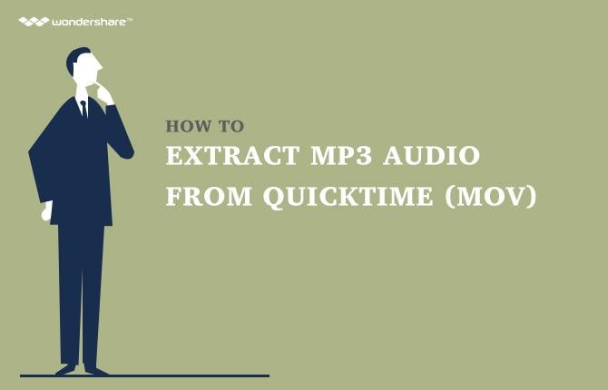 How to Extract MP3 Audio from QuickTime (MOV)