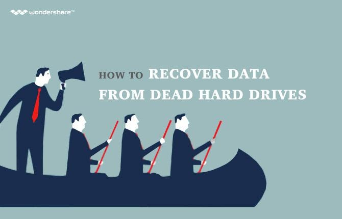 How to Recover Data from Dead Hard Drives