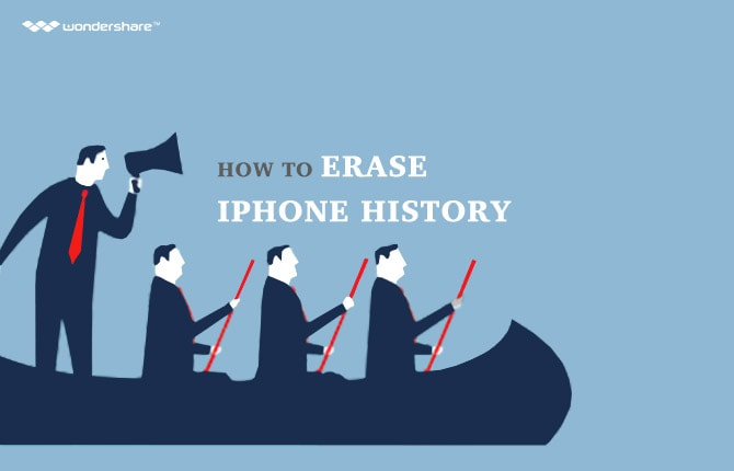 How to Erase iPhone History